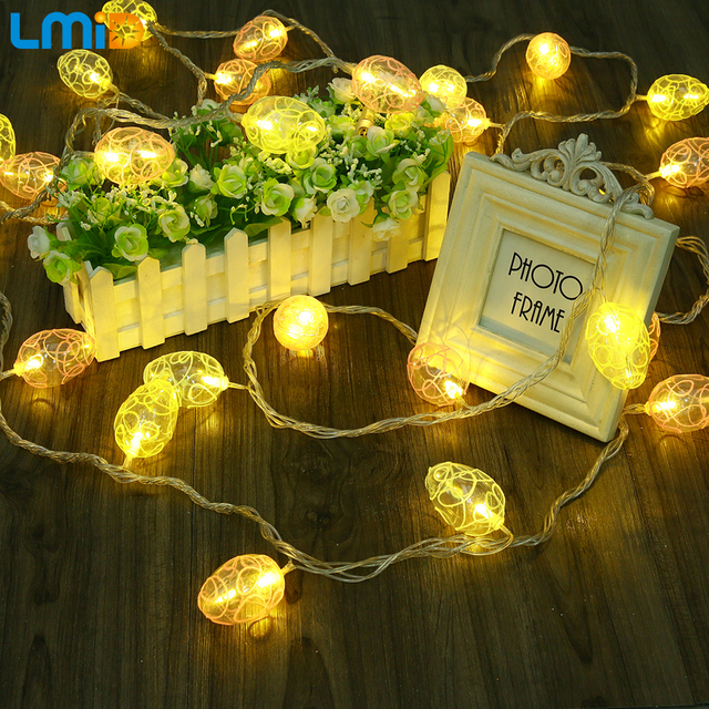 Aliexpress buy lmid easter egg 5m led fairy string lights lmid easter egg 5m led fairy string lights for easter party christmas holiday new year indoor aloadofball Images