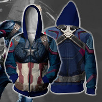 Marvel Avenger Iron Man Captain 3D Hoodies Men Off White Streetwear Hip Hop Sweatshirts Moving Casual Hooded Hoodie for Kids