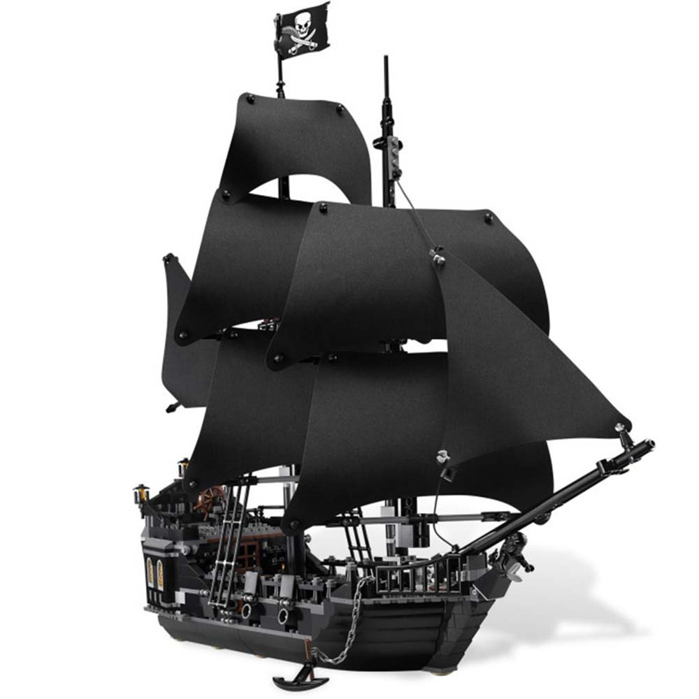 16006 Pirates of the Caribbean The Black Pearl Model set Building Blocks Kits Funny Bricks Educational Toys For Boys Gifts waz compatible legoe pirates of the caribbean 4184 lepin 16006 804pcs the black pearl building blocks bricks toys for children