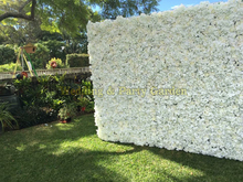 Wedding Flower Wall Flower backdrop with Stand Rose & Hydrangeas Backdrop with Aluminum Folded Pipe frame
