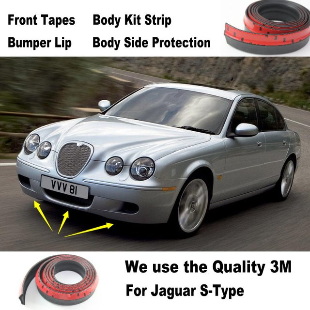 car bumper lips for jaguar s type s type spoiler for car. Black Bedroom Furniture Sets. Home Design Ideas