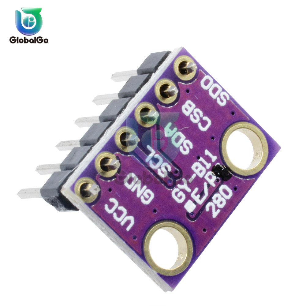 I2C BMP280 3.3V Digital Barometric Pressure Altitude Sensor DC High Precision Atmospheric Module For Arduino