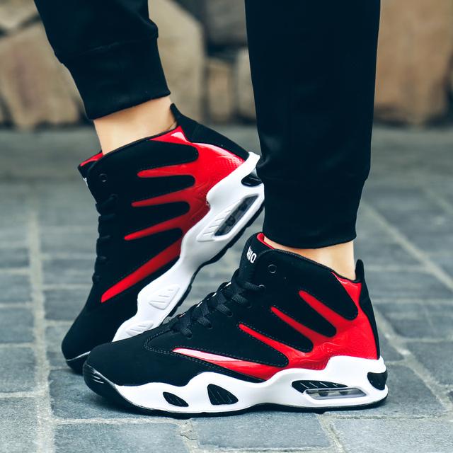 Zapatos de baloncesto profesional de James deportivas para hombre transpirable aire Zoom