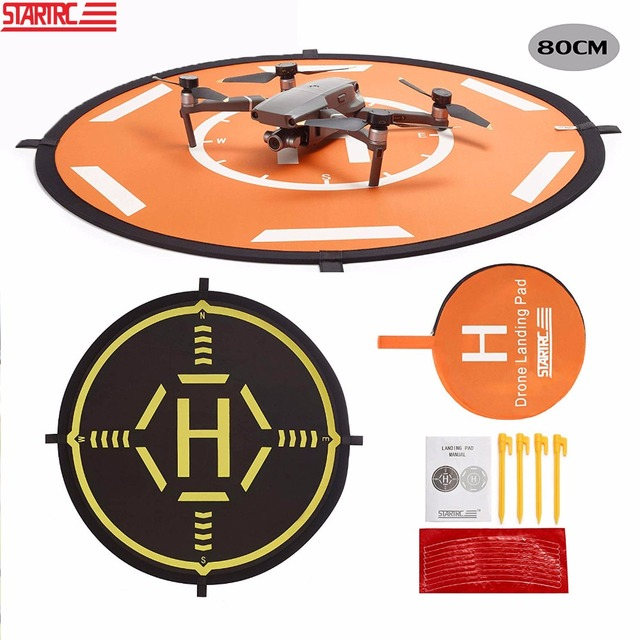 STARTRC DJI Mavic 2 Pro Zoom Parts Portable Foldable Landing Pad 80CM For DJI Mavic Air / Phantom 4 pro V2.0 Drone Accessories