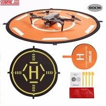STARTRC DJI Mavic 2 Pro Zoom parçaları taşınabilir katlanabilir Landing Pad 80CM DJI Mavic hava/Phantom 4 pro V2.0 Drone aksesuarları