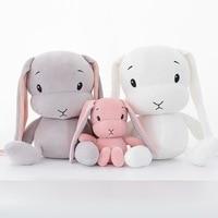 70 CM Cute rabbit plush toys Bunny Stuffed & Plush Animal Baby Toys doll baby accompany sleep toy gifts For kids