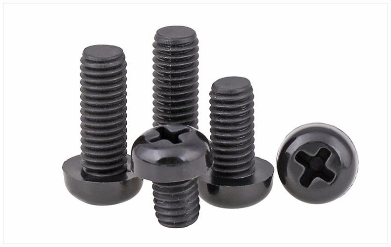 GB818-85 Nylon screws round head screws M2 M3 M4 M5 M6 M8 screw black bolt Plastic PM screws летние шины nokian 215 45 r17 91w hakka blue 2