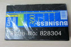 PU large capacity 300 card holder card case card