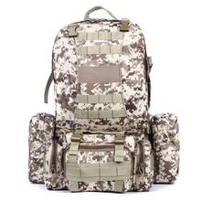45L Molle housekeeper Tactics Backpack hik Waterproof 600D High capacity Assault Travel Military Rucksacks Backpacks Army Bag