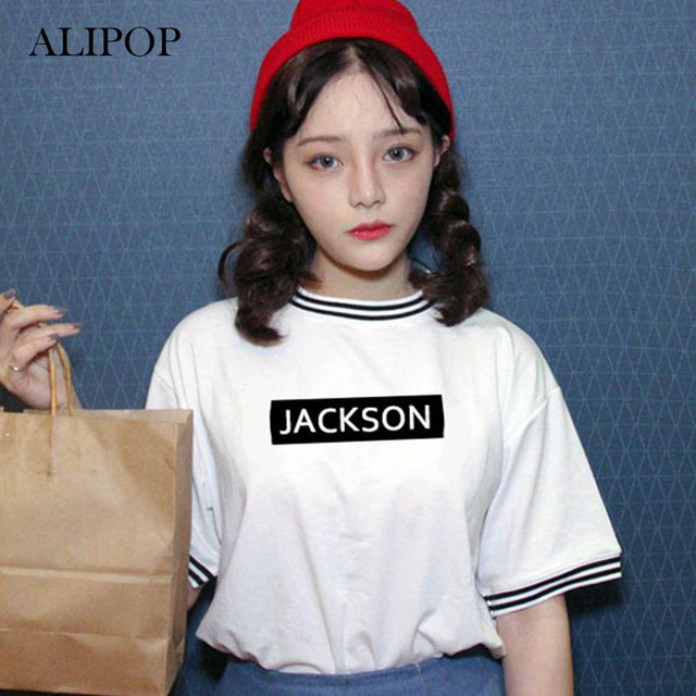 ALIPOP KPOP GOT7 MARK JB Album Shirts K-POP 2016 New Fashion Casual Cotton Tshirt T Shirt Short Sleeve Tops T-shirt DX340