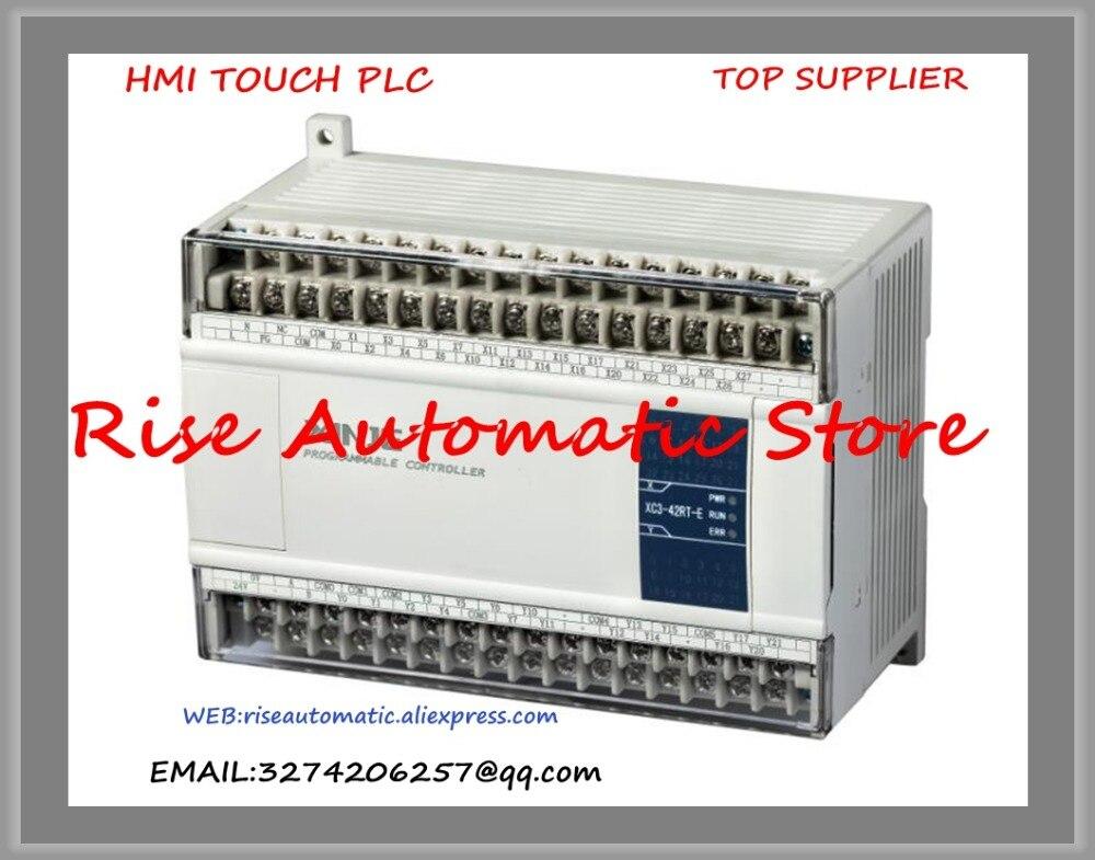 все цены на  New Original Programmable Controller Module XC3-42RT-E XC3-42RT-C PLC CPU DC24V 24 DI NPN 18 DO Relay Transistors  онлайн