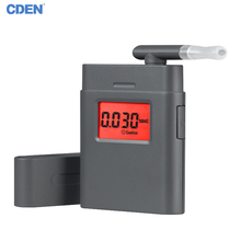Breath Alcohol Tester Breathalyzer Mini Portable LCD Display Mouthpieces With 360 Degree Rotating for Drunk Drive