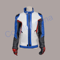 2016 NEW game OW hero soldiers cosplay OW costume top jacket halloween costumes for women & men anime uniform clothing