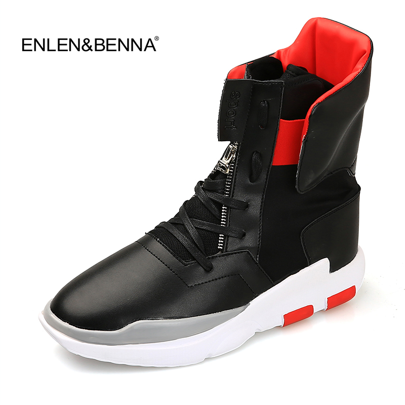 2016 NEW style men boots west Top quality Black red color designer autumn men shoes fashion luxury brand Chelsea men boots shoes 2016 new men fashion