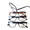 2pcs/lot Man Fashion High Quality Stainless steel+Handmake male glasses/ eyeglasses big size optical frame with case packing