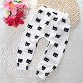 Venta caliente nueva ropa del bebé del diseño lindo de los niños niños niñas pantalones Harén Niños pantalones niño ropa