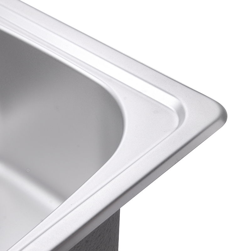 Cucina JOMOO Lavello In Acciaio Inox Vasca Singola Ciotola di Forma Quadrata Lavello Filtro di Scarico Set Sabbiatura Finitura Grembiule Lavello Evier Disipador - 4