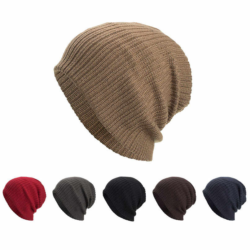 69d1364a6d8 Winter Men Riding cap Ice Skating Cap Women Snowboard Hat Outdoor Knitted  Warm Ski Skull Cap