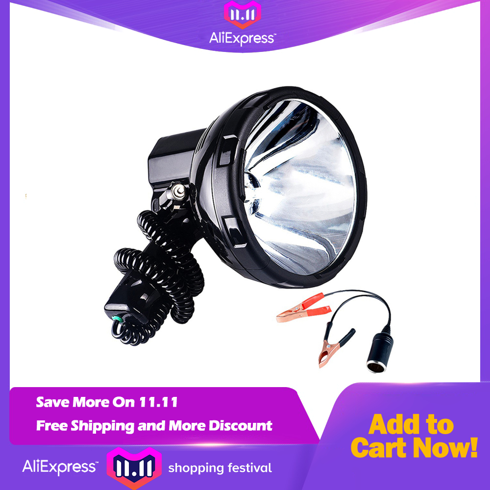High power xenon lamp outdoor handheld hunting fishing patrol vehicle 220W h3 HID searchlights hernia spotlight 12v jujingyang high power xenon lamp outdoor handheld hunting fishing patrol vehicle 55w h3 hid searchlights hernia spotlight 12v