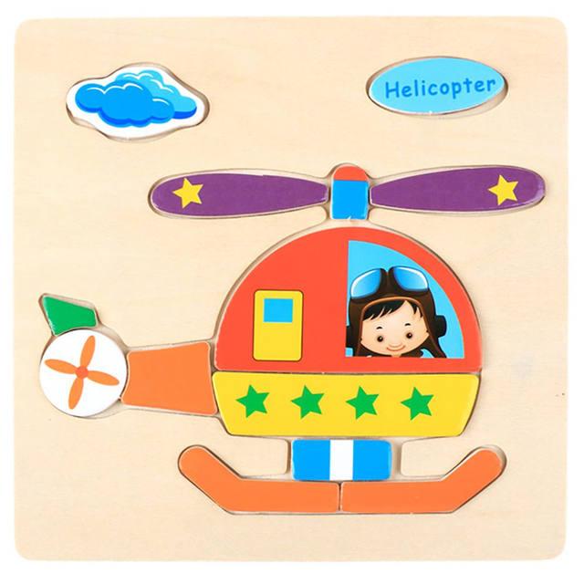 Juguete educativo Montessori – puzzles