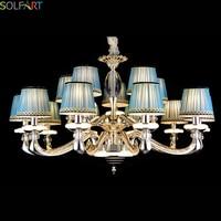 SOLFART Chandeliers Lighting For Dining Room Pendant Light Chandelier Lighting Modern Heracleum Glass Branch Chandelier 8886