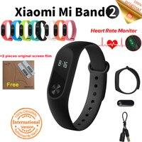 Original Xiaomi Mi Band 2 Global Version Fitness Tracker Heart Rate Monitor Xiaomi Mi Band In