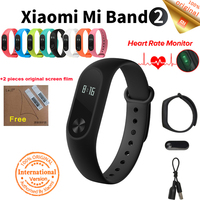 Original Xiaomi Mi Band 2 Fitness Tracker Miband 2 Heart Rate Monitor Xiaomi Mi Band In