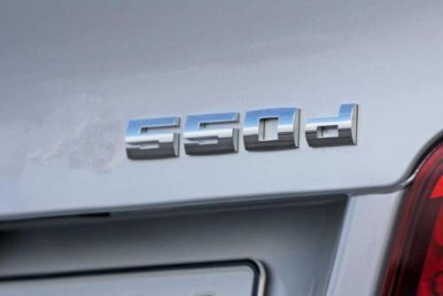 Pour BMW LOGO TYPE M SERIE 550 D M5 550D M E39 E60 E61 F10 F30 emblème OEM qualité