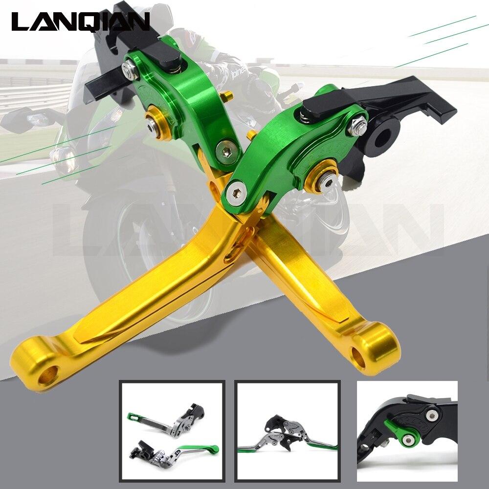 CNC moto freins embrayage leviers réglable pliable extensible pour Kawasaki ZX-11 1990-2001 ZX7R ZX7RR 1989-2003 ZX 11 7R 7RR