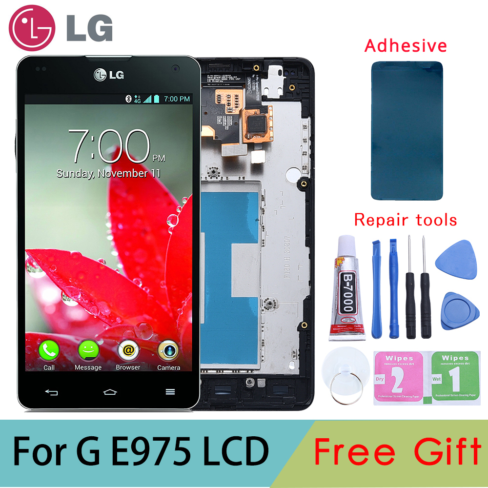 Tested ORIGINAL Display for LG E975 Display Touch Screen Digitizer for LG Optimus G E975 LCD LS970 F180 E971 E973 LCD Display Tested ORIGINAL Display for LG E975 Display Touch Screen Digitizer for LG Optimus G E975 LCD LS970 F180 E971 E973 LCD Display