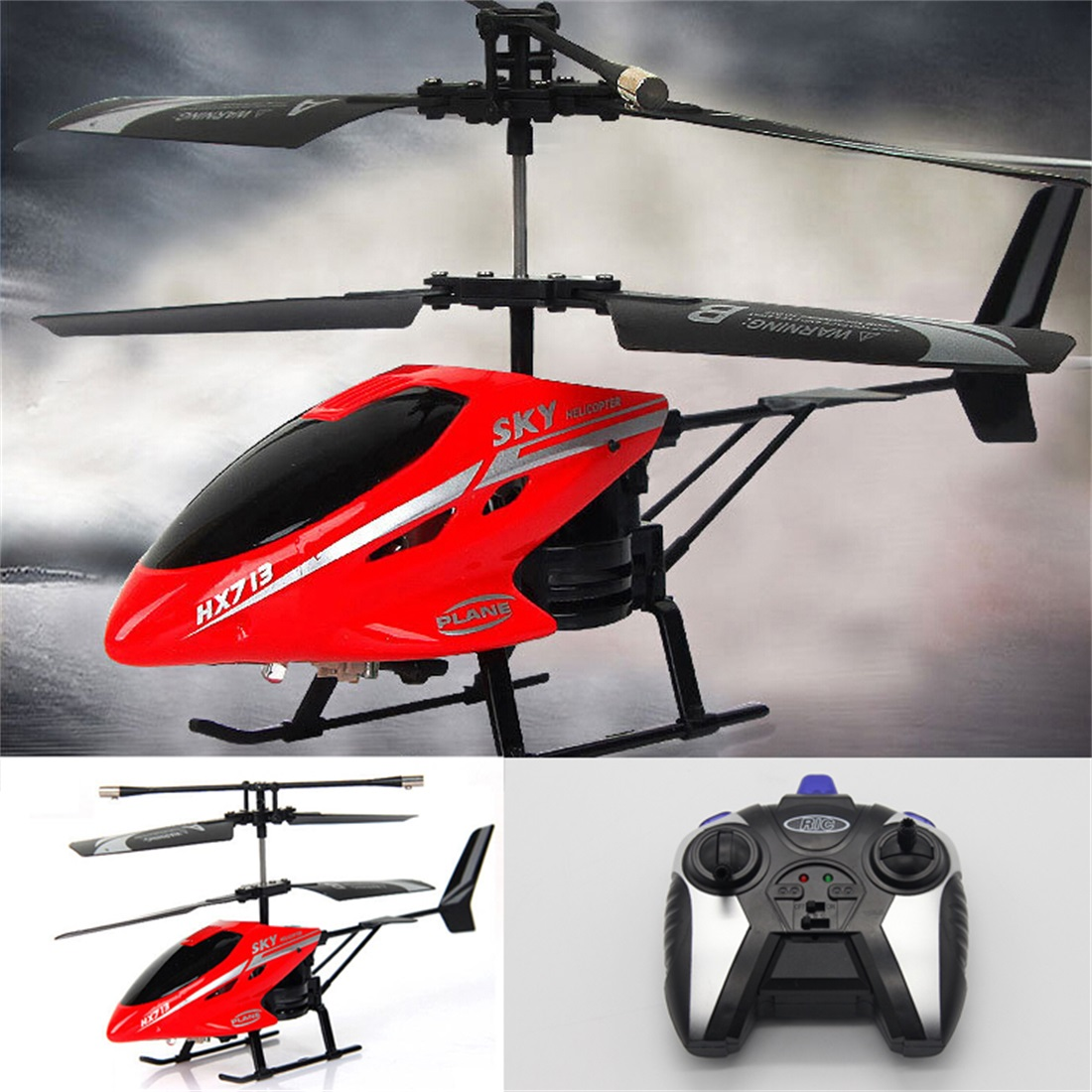 New 2 5 Channel Infrared Charging Radio Remote Control Helicopter Toy