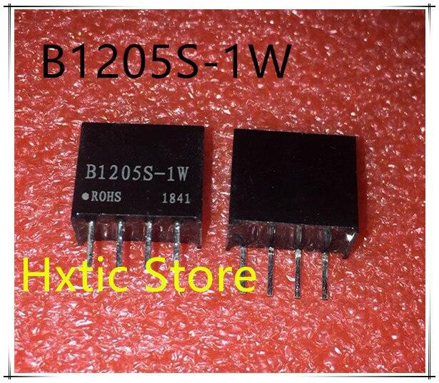 5PCS LOT B1205S 1W B1205S DIP 4 12V to 5V DC DC Isolated power module