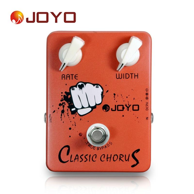 JOYO JF-05 véritable contournement Design classique Chorus guitare électrique effet pédale corsé 12 cordes sons matériel en alliage d'aluminium