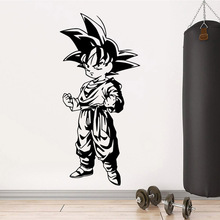 Vinyl Wall Decals Super Saiyan Classic Dragon Ball Sticker Cartoon Anime Poster Mural Boys Children Cute Room Decor W521