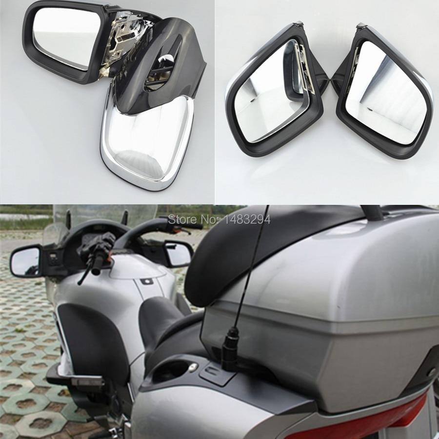 Chrome Motorcycle Fairing Mount Side Rearview Mirror For BMW K1200 K1200LT K1200M 1999 2008 00 01