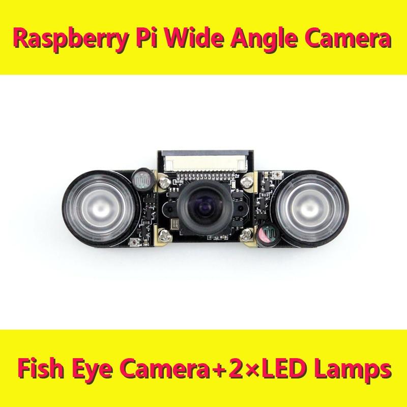 Raspberry pi Wide Angle Fish Eye Camera RPI Webcam Suit Raspbian DIY Development Kit new arrival freeshipping wholesale hot sell