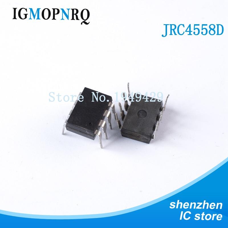 20PCS New JRC4558 4558 4558D DIP-8 Integrate IC Chip