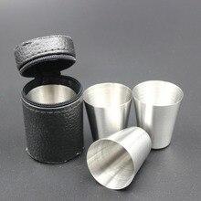 30 мл компактный размер 1 шт. крышка из нержавеющей стали кружка кемпинг чашки Кружка для питья кофе чай пиво для путешествий на открытом воздухе