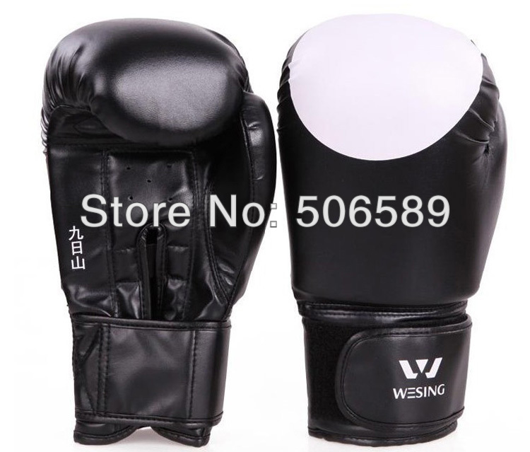 boxing font b gloves b font children adults PU leather red blue black SD10 4