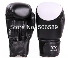 boxing gloves children adults PU leather red blue black SD10 4