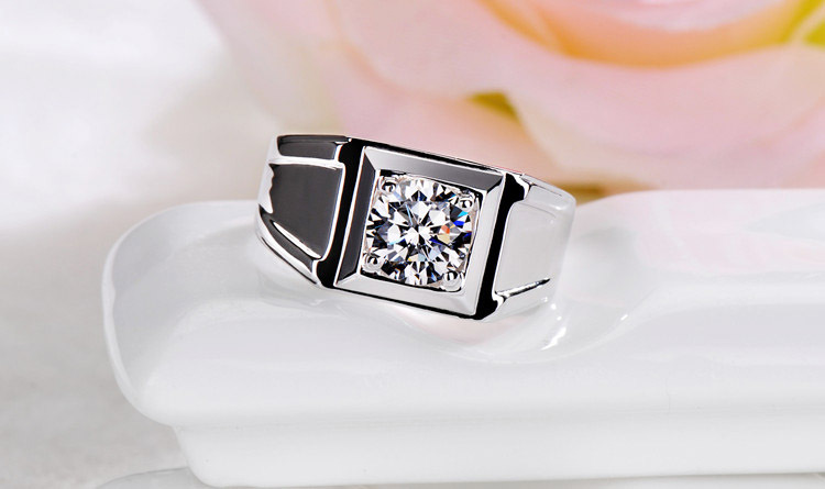 Energetic 0.5 Ct G-h Diamond Anniversary Solitaire Bridal Ring Band Set 14k White Gold Bridal & Wedding Party Jewelry
