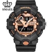 Top Luxury Brand SMAEL Men Sport Watches Men S Quartz LED Analog Clock Man Military Waterproof