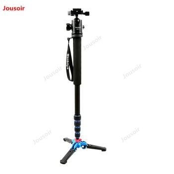 Tripod Monopod set 165cm Portable Professional Aluminum Camera with M-1 Stand base & ball head CD05 T10 A