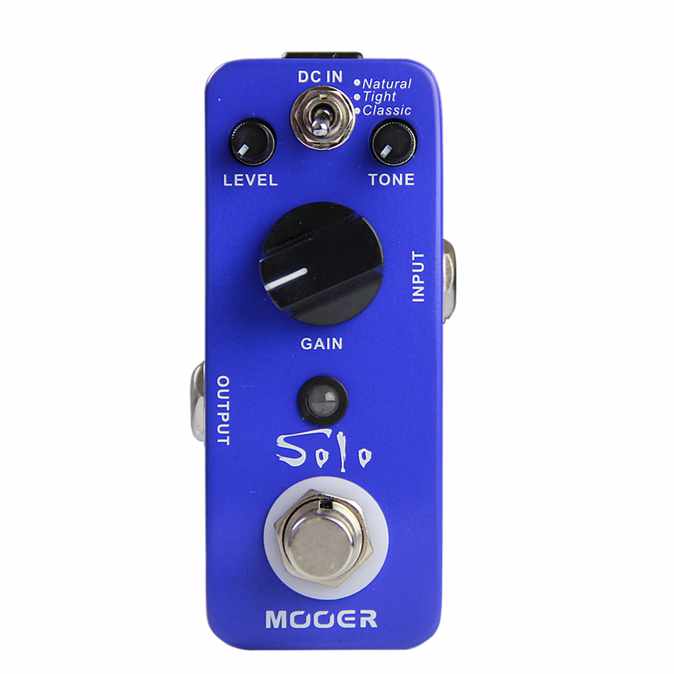 NEW Effect Pedal/MOOER Solo Distortion Pedal /Full metal shell True bypass-in Guitar Parts & Accessories from Sports & Entertainment    1