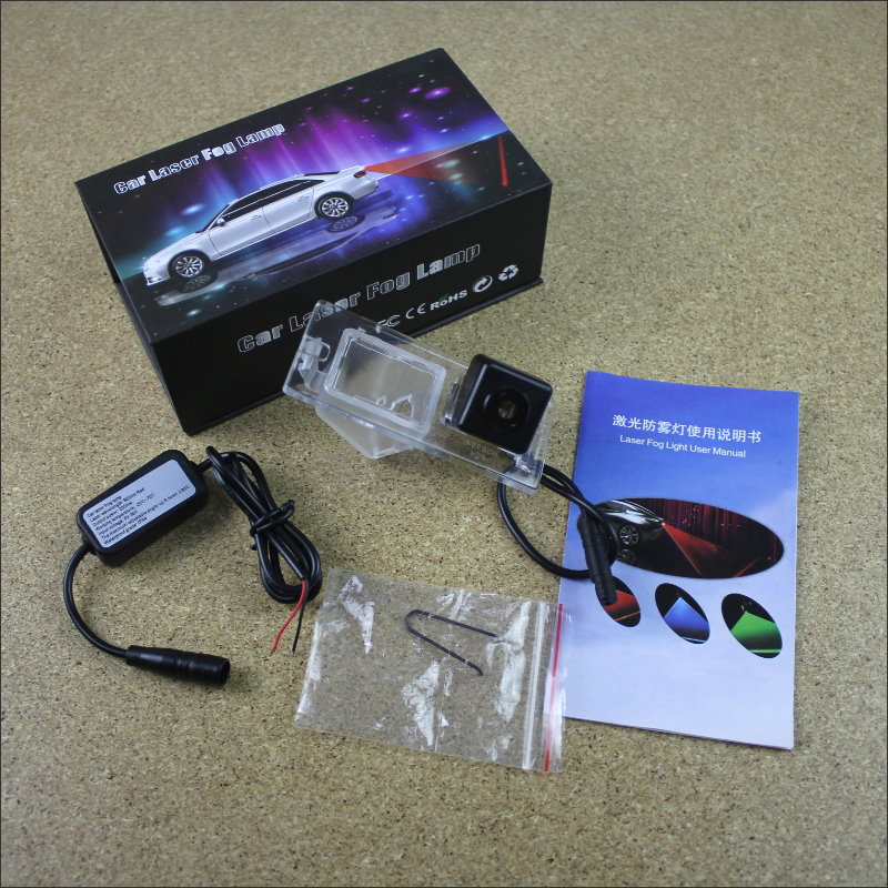 цены Laser Anti Collision Lamp Fog Lamps For Fiat Doblo Outside The Car Warning Alert Light To Shoot The Chandeliers