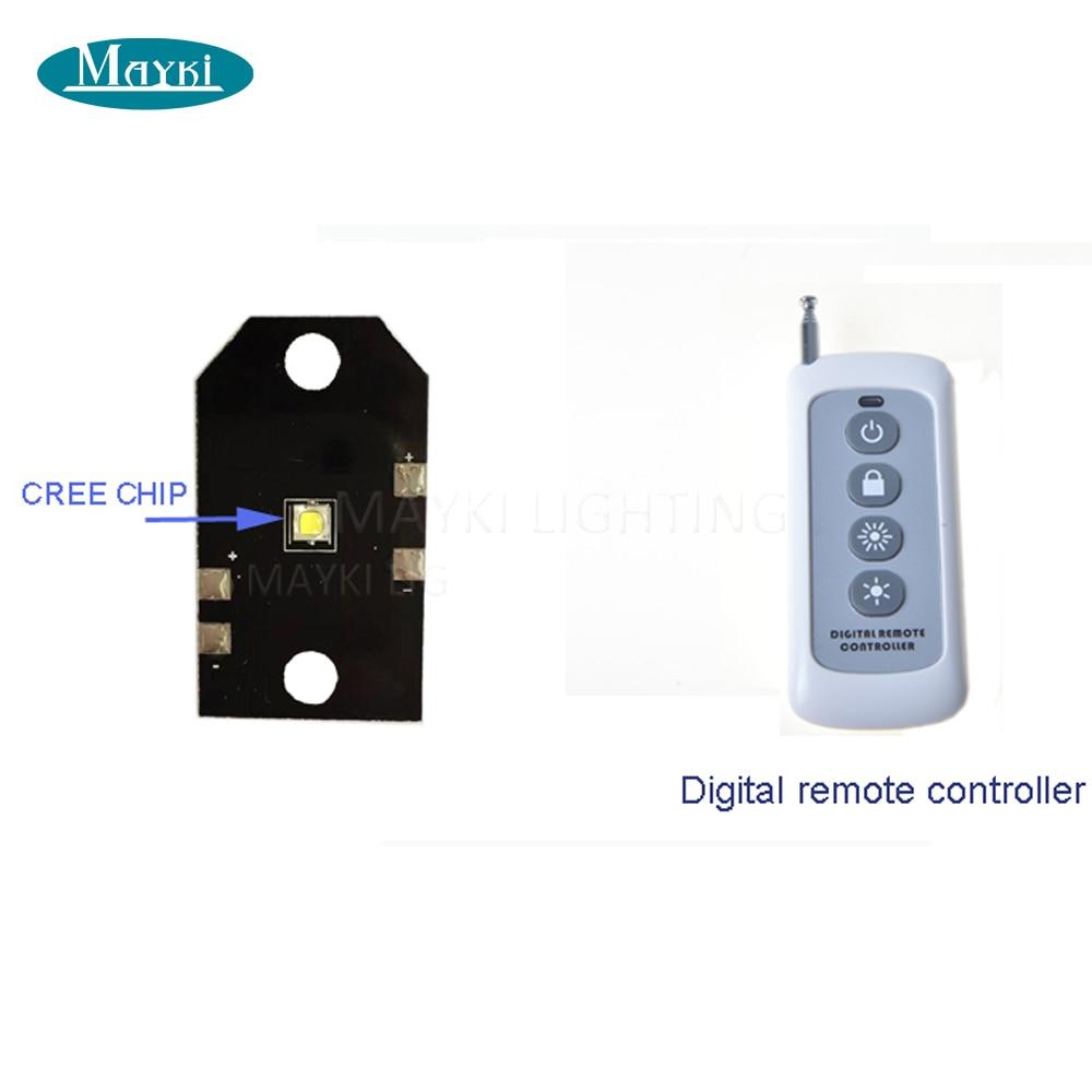 Maykit Cree Chip 5W LED Aşağı Gərginlikli İşıq Sauna otağı - Ticarət işıqlandırması - Fotoqrafiya 4
