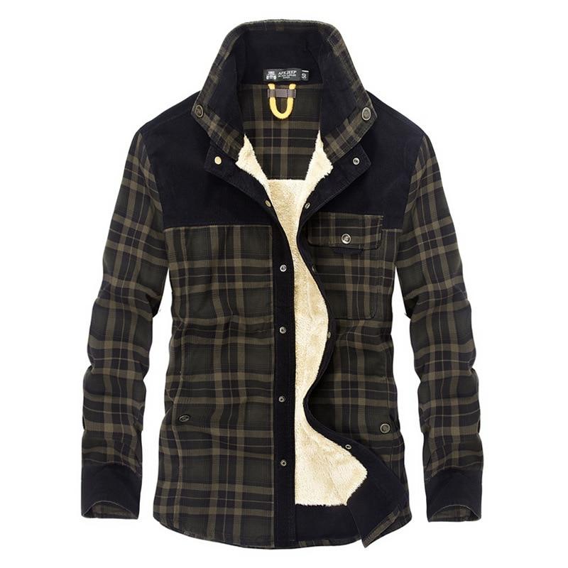 ChoynSunday Warmer Men Jacket Coat Trendy Warm Jacket 2018 Winter Fashion Mens Jean Jacket Outwear Male Cowboy Plus Size 3XL