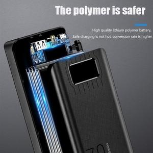 Image 3 - 전원 은행 50000mAh 2 USB LED 외부 배터리 전화 충전기 PoverBank xiaomi에 대 한 빠른 휴대용 충전 전원 은행 충전기