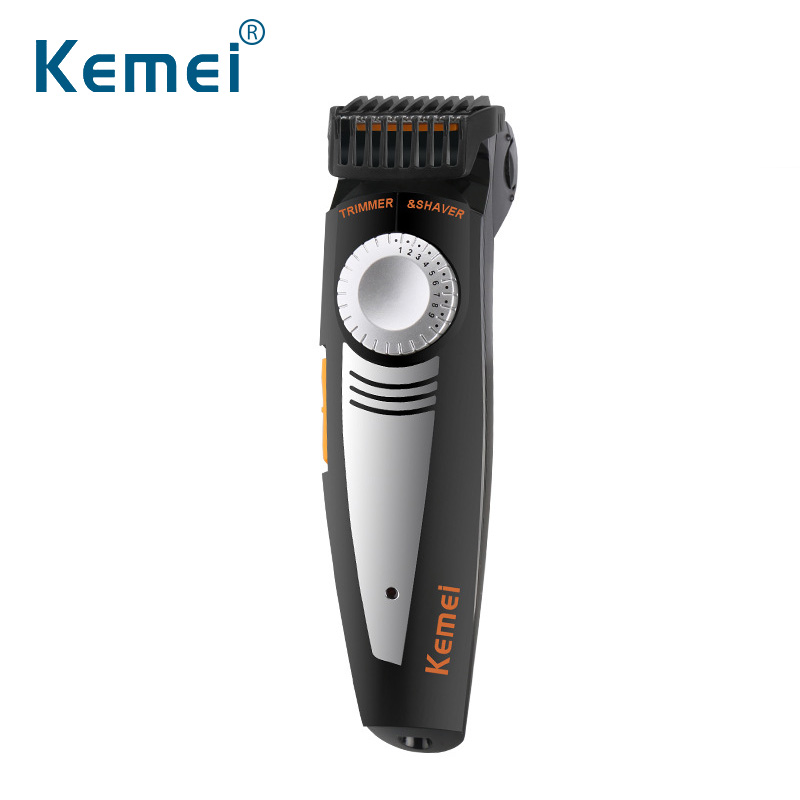 Kemei819 2 in 1 Multifunction Men Electric Shaver And Hair Trimmer 100-240V 19 Settings Cutting Length Adjustable Shaver Razor