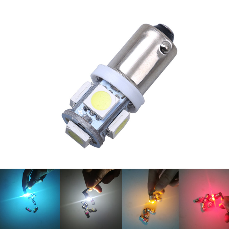 1pc T11 BA9S 5050 5-SMD LED White Light Bulb Car light Source for Car motorcycle 12V Lamp T4W 3886X H6W 3631pc T11 BA9S 5050 5-SMD LED White Light Bulb Car light Source for Car motorcycle 12V Lamp T4W 3886X H6W 363